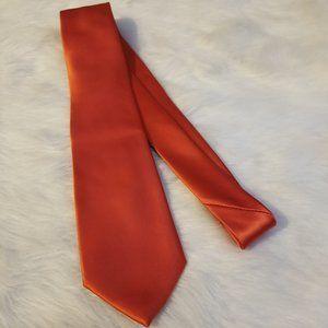 Geoffrey Beene Men's Orange Tie Polyester